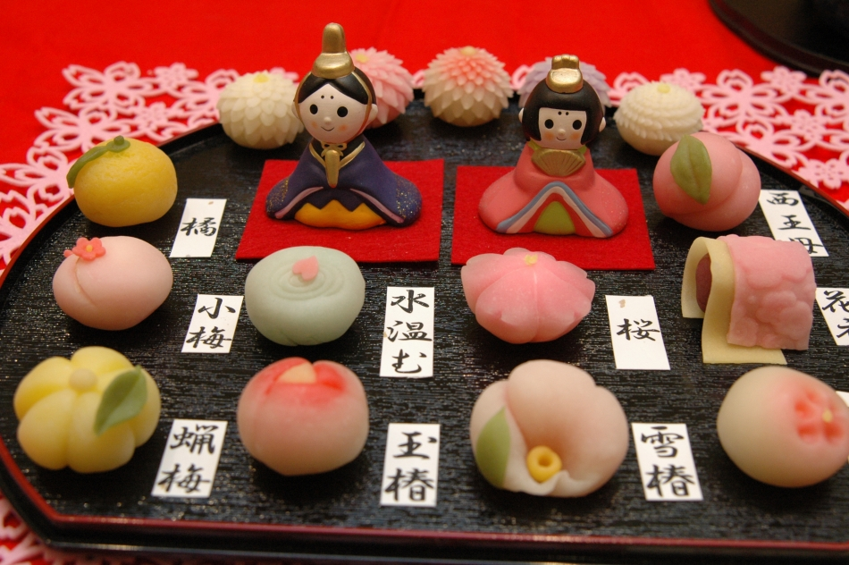 Sweets of Japanese-Western style cake