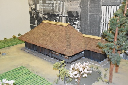 Model of Sakuracho encampment