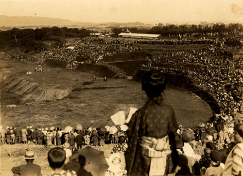 Odawara racetrack that was famed in dream