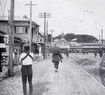開業当時の小田原駅