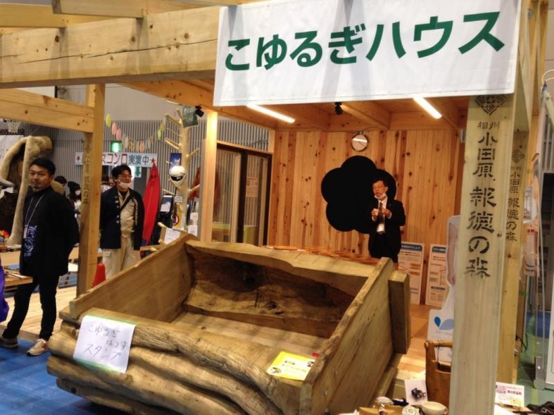 小田原産材を生かしたモデルルーム「こゆるぎハウス」