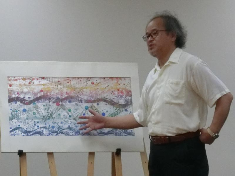芳澤さんと作品