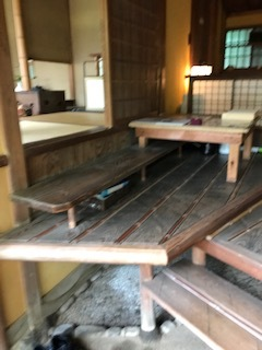 お茶室への入口