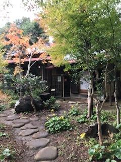 茶室の玄関