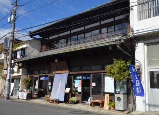 「籠清」本店の店構え(写真6)