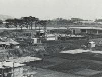 建設中の寿町下水道終末処理場