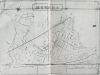 市制施行直前の小田原町地図