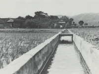 整備された農業用水路
