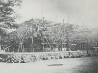 建設中の小田原町役場
