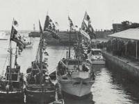 入船式参加の漁船