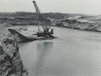 酒匂川付近での砂利採取ラッシュ