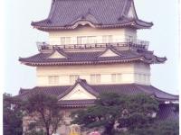 小田原城と観覧車