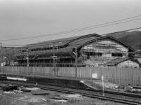 梅の里センター建設工事中