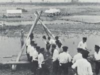 酒匂川での水防訓練
