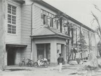 市立芦子小学校木造校舎