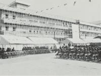 市立東富水小学校の開校式
