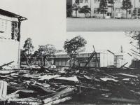 火災にあった市立曽我小学校