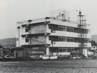 市立矢作小学校の建設工事