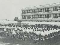 市立泉中学校の開校式
