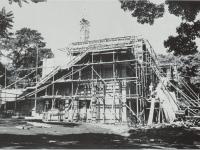 建設中の星崎記念館