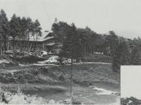 建設中の塔の峰青少年の家