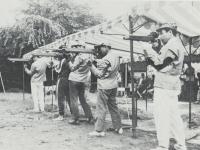 市民体育祭での射撃競技