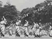 市民レクリエーション大会で踊…