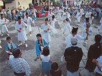 寺山神社の鹿島踊り