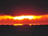 御幸の浜から見た初日の出