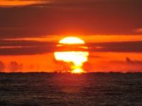 御幸の浜の日の出