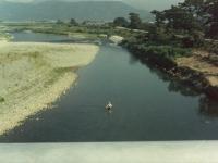 酒匂川の鮎釣り