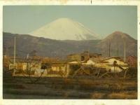 富士山と矢倉岳