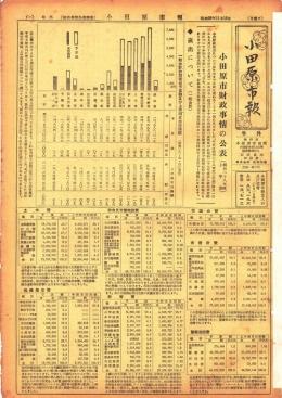 小田原市報 財政事情公表特集表示画像