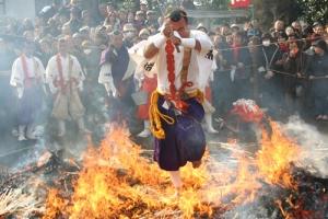 満福寺の火伏まつり (毎年1月28日)