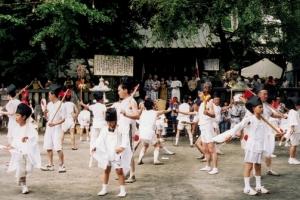 鹿島踊り (7月第3日曜日)