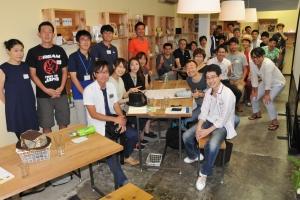 ハミダセ×まちづくり学校を開催しました【平成27年7月20日(祝)】