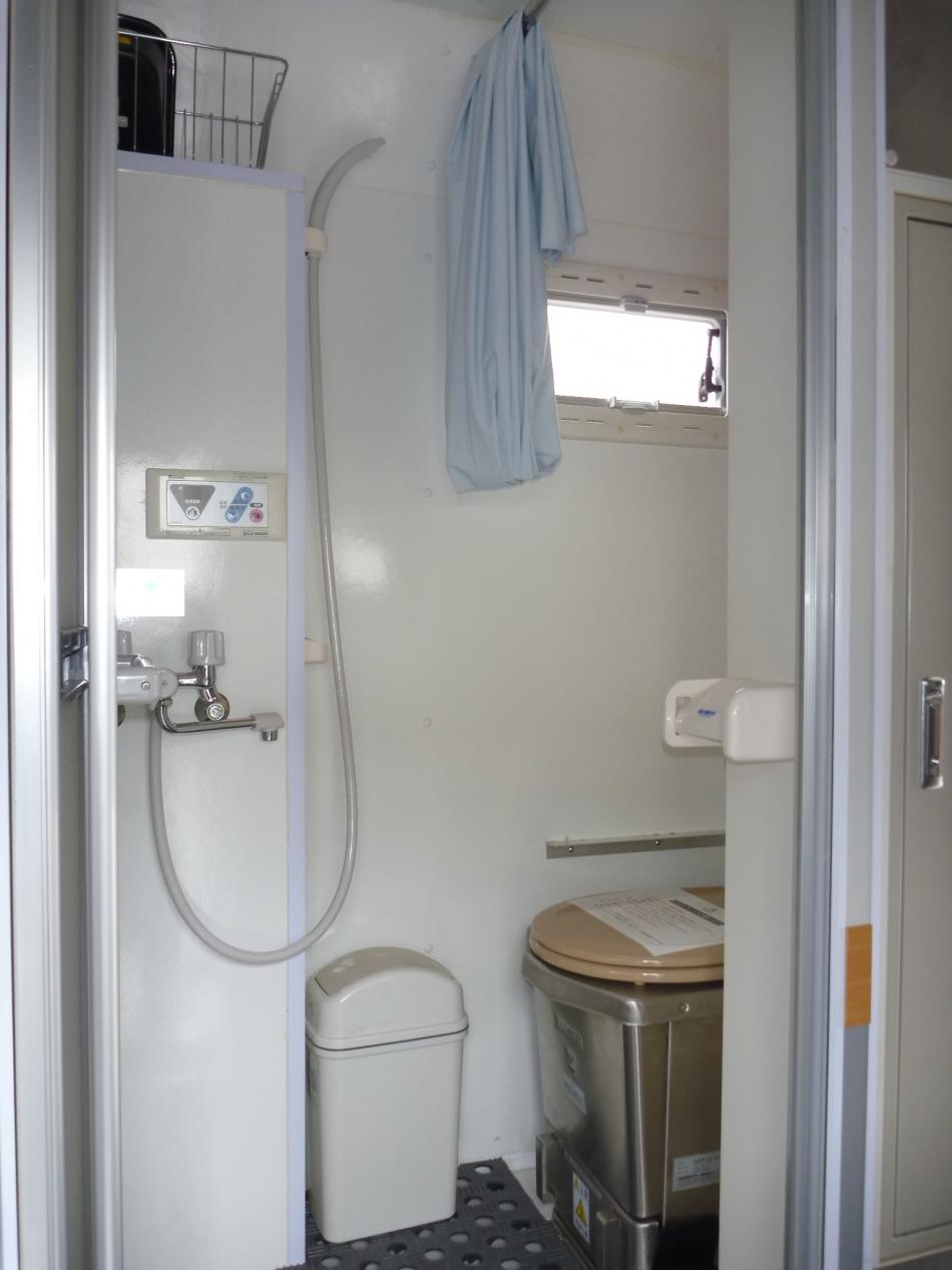支援1シャワー