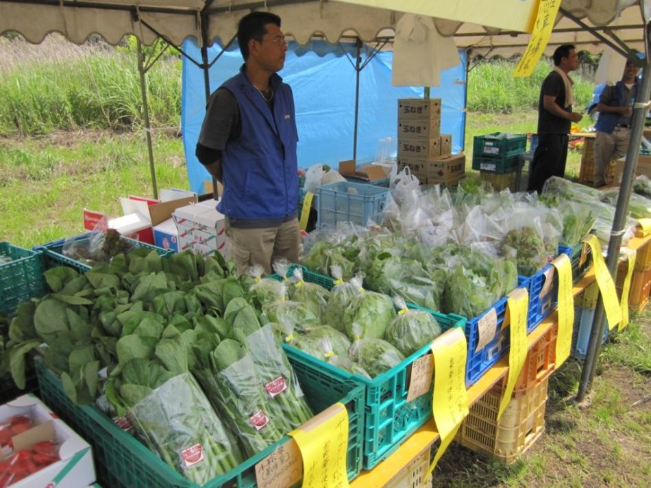 農産物・加工品の販売