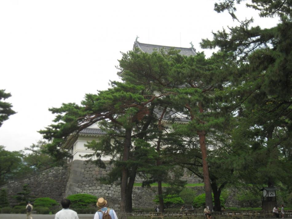 本丸広場(修景前)