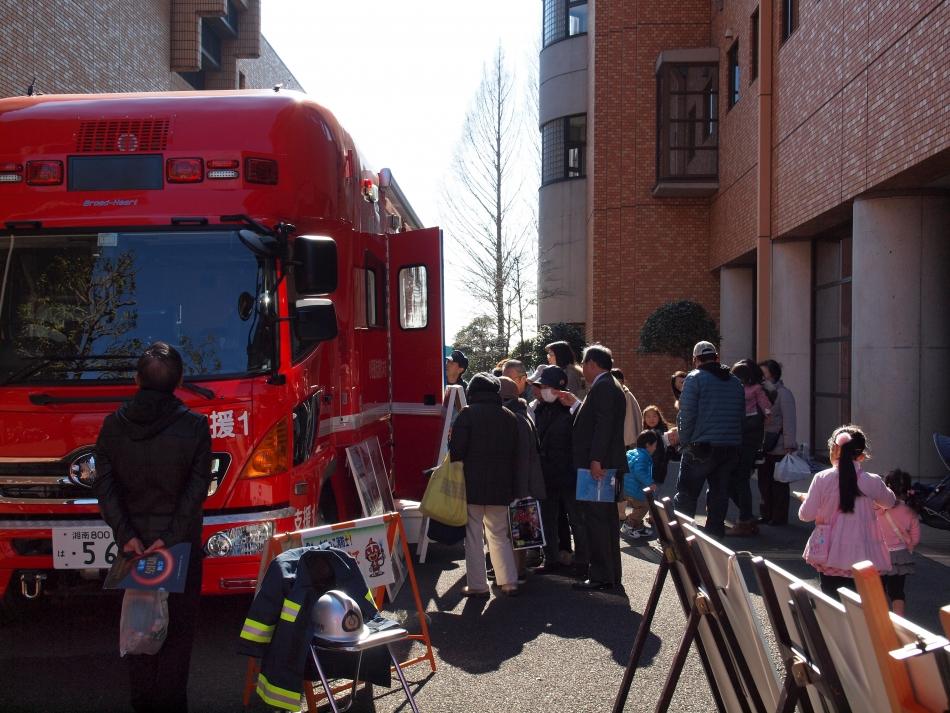 大井町での広報活動の様子