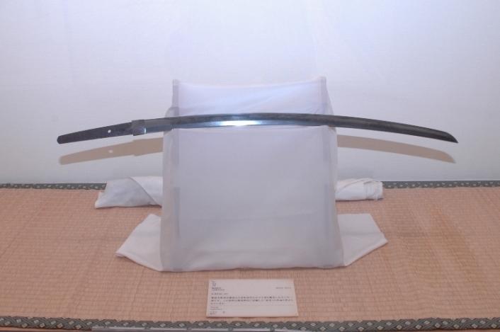Espada: Una muestra de los objetos en exhibición