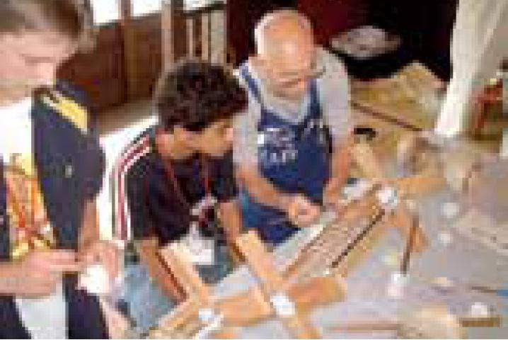 Intentemos fabricar linternas japonesas Odawara-chochin