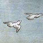 石橋山の朽木に霊鳩頼朝を助く