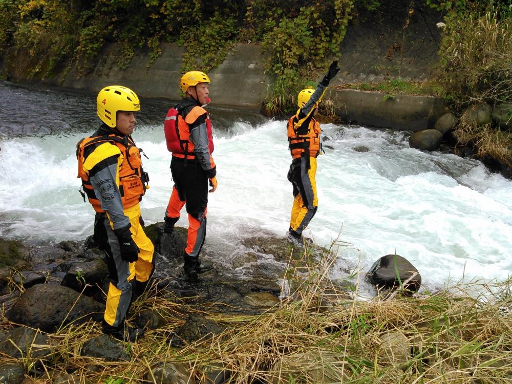 入水時の安全管理