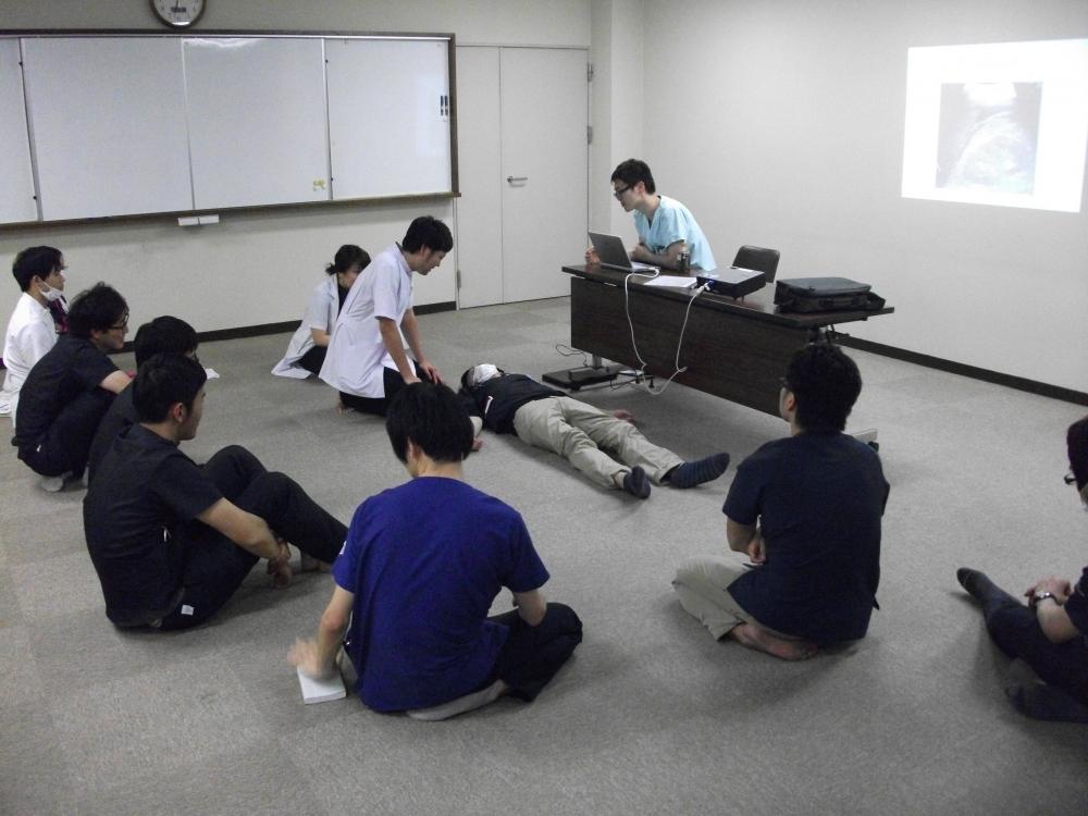 救急科医師による外傷患者の診かたに関する勉強会