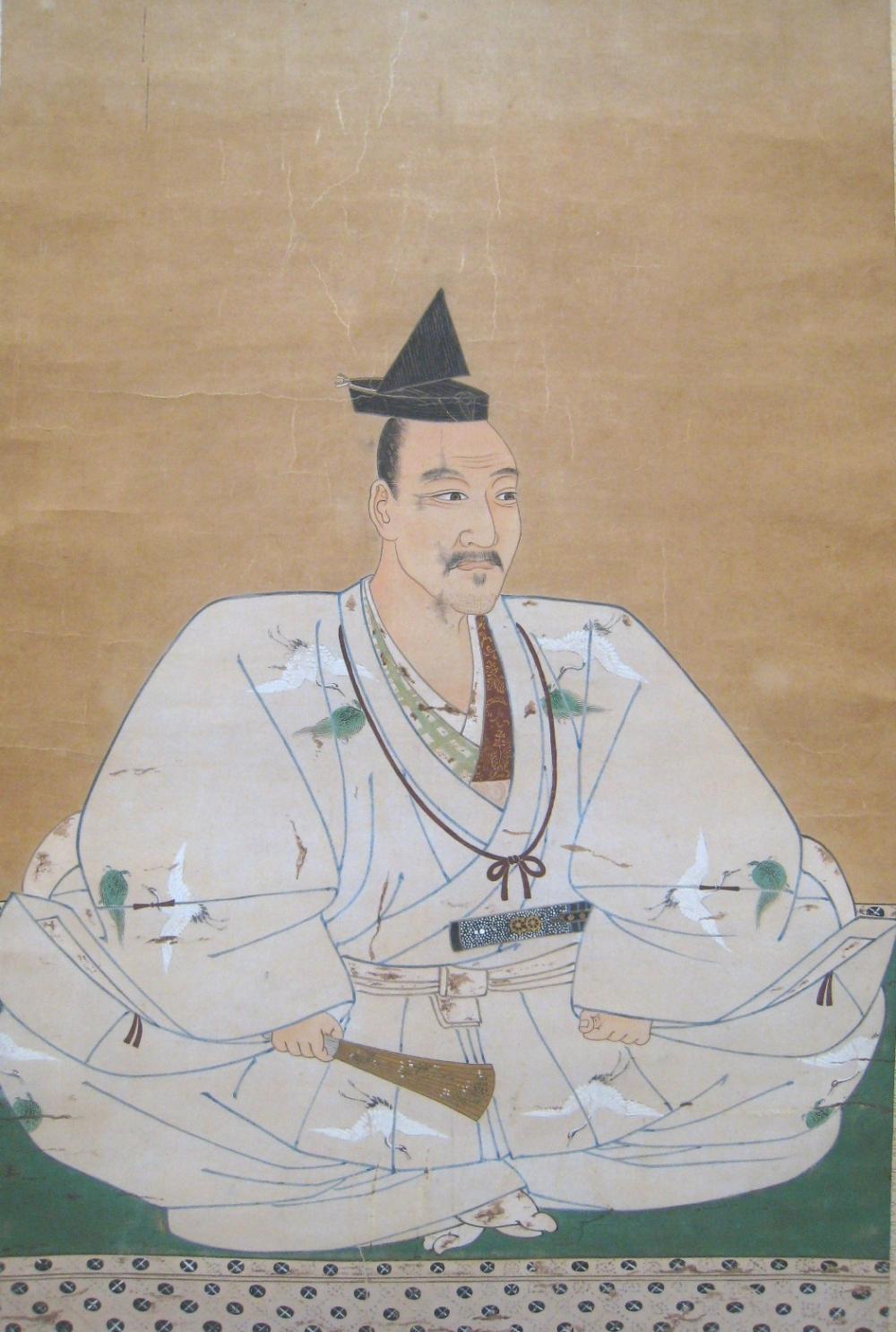 北条氏康像(模写) 神奈川県立小田原高等学校蔵