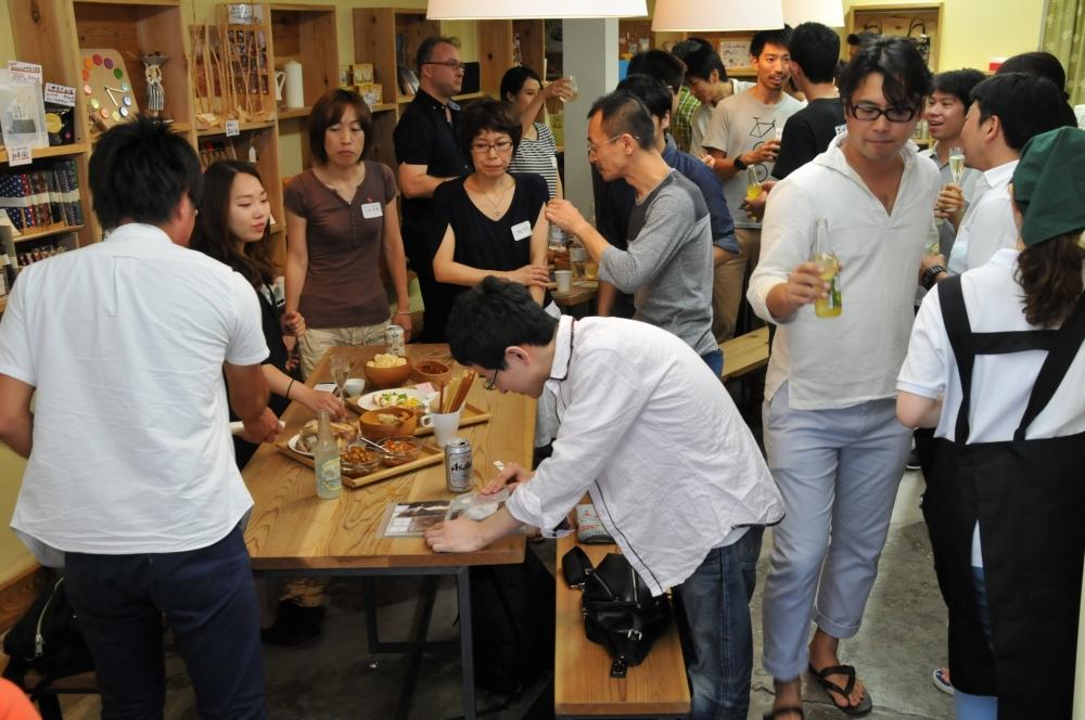 参加者同士の交流を生むネットワークパーティ