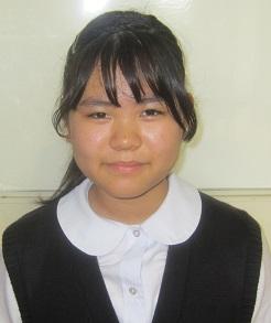 城山中学校 高坂 万耶子さんの画像