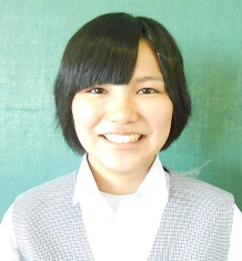 千代中学校 鈴木 愛美さんの画像