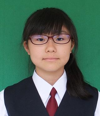 城北中学校 中戸川 誌珠璃さんの画像